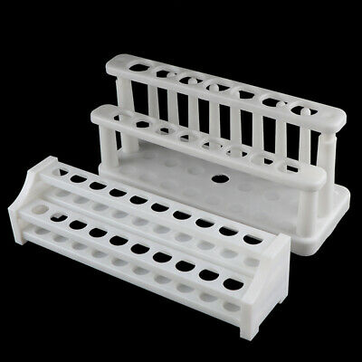 Plastic Test Tube Rack Holder Support Burette Stand Lab Test Tube Stand ShelRKUK