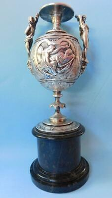 Magnificent Silver Early Nouveau Urn Art Union of London 1865