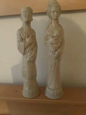 Pair of Chinese   figures Asian/Oriental