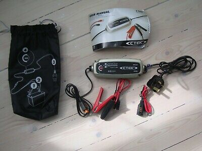 CTEK MXS 5.0 12V Automatic Battery Charger Conditioner 5A Spares or Repair