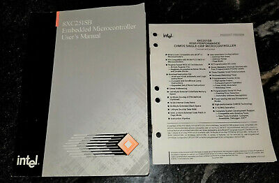1995 Intel 8XC251SB Embedded Microcontroller User's Manual w/ Product Preview