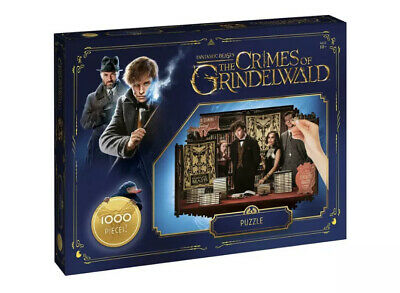 Harry Potter Fantastic Beasts Waddingtons 1000 Pieces Jigsaw Puzzles Toy Game
