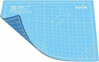 ANSIO Cutting Mat Self Healing A4 Double Sided 5 Layers Imperial/Metric 11 Inch