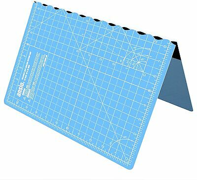 ANSIO A3 Self Healing Foldable Cutting Mat Imperial 17 Inch x 11 Inch - Sky