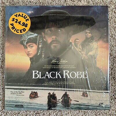 Black Robe Laserdisc In Shrink