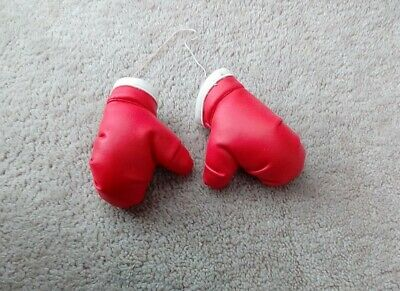 Red boxing gloves  novelty x2 hang in car   bought approx 2000