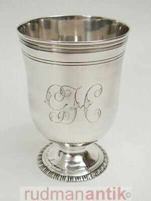 antiker BECHER STERLING SILBER 925 EDWARD/ELISABETH ALDRIDGE LONDON 1764