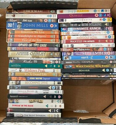 Job Lot Of 40 Vintage Classic Dvd Movies