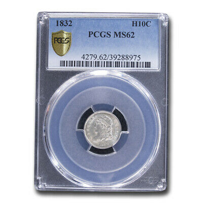 1832 Capped Bust Half Dime MS-62 PCGS