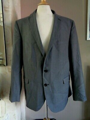 French Eye 100% Wool Single Breasted Suit Jacket 50 - Eur 60