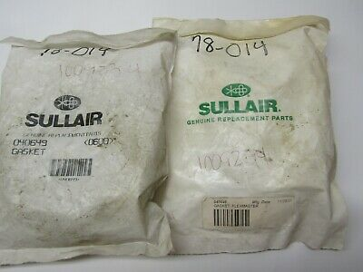 Sullair 040649 Gasket Lot of 2!