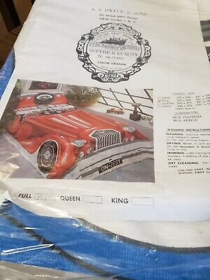 Bedcover With Car Design Full Size Made in Spain