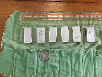 30 Ounces Silver Ingots Danburry