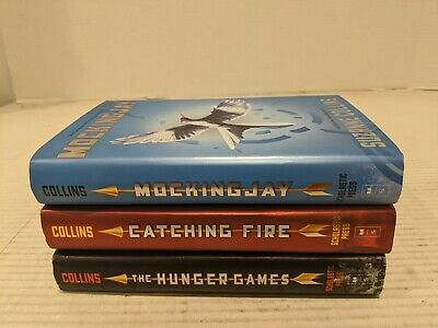 HUNGER GAMES Trilogy 3 Hardcover Set Complete Series Suzanne Collins FREE SHIP