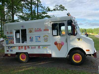 Ready to Go Chevrolet P30 Step Van Ice Cream Truck for Sale in South Carolina!!