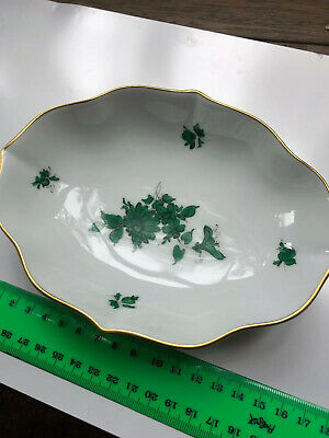 Vintage Vienna Maria Theresia Augarten Wien Porcelain Bowl Ashtray #5098, New!