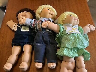 Cabbage Patch Kids Dolls X 3