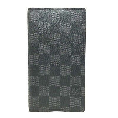 Louis Vuitton Damier Graphite Agenda De Posh Planner Notebook Cover /ee177