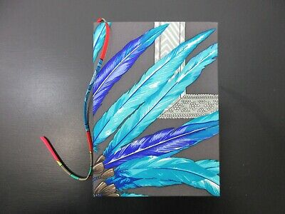 Authentic Mint HERMES Agenda Notebook Silk Multi Color With Box 83952 B