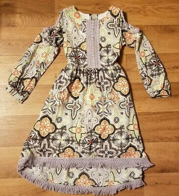NWT Counting Daisies by Rare Editions Girl Cotton Lined Dress Cardigan Set 2pc