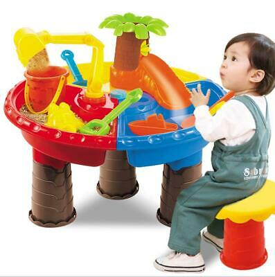 Sand & Water Table Watering Can Spade Kids Outdoor Beach Garden Sandpit Toy Set