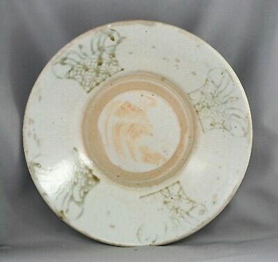 Genuine Antique Chinese Ming Dynasty (1368-1644) Handmade Porcelain Bowl