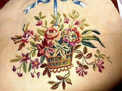 Antique large Aubusson  Tapestry