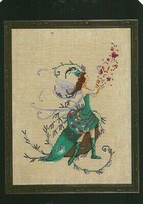 NC267 Lotus Pond Pixies Collection Counted Cross-stitch Pattern Nora Corbett