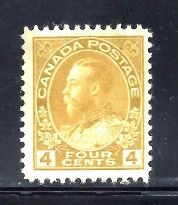 Canada 4 CENT ADMIRAL SCOTT 110 DRY PRINTING MINT NH (BS12568-1)