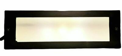Large Step Light Box with Heavy Duty Cast Brass Cover in Antique Bronze