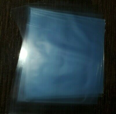 100 12 inch OUTER album LP SLEEVES 3 MIL CLEAR POLY SLEEVE Vinyl covers