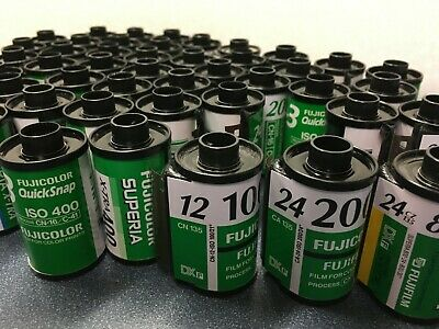 50 Empty 35mm Film cassettes all FujiFilm
