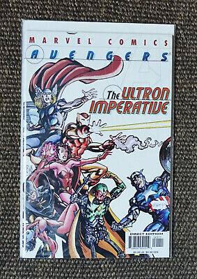 Avengers The Ultron Imperative #1 - Age of Ultron (Marvel Comics 2001) VF/NM