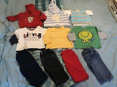 Huge 63 Piece Bundle Of Baby Boys Clothes 3-6 Months
