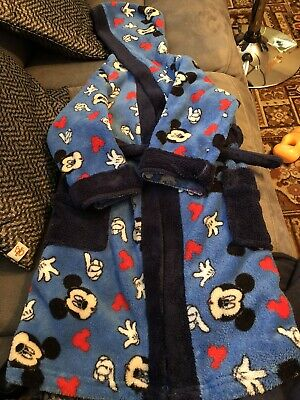 Boys dressing gown 4-5 years