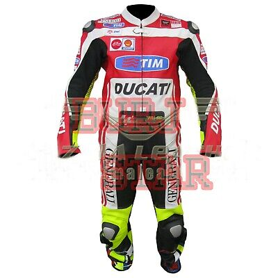 Valentino Rossi Ducati Professional Racing Motorbike Leather Suit