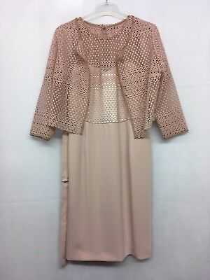 Luis Civit Collection Rose Lace Jacket & Dress. Various Sizes. RRP £539.