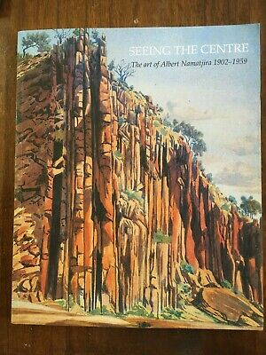 "ART BOOK - THE ART OF ALBERT NAMATJIRA 1902-1959 titled ""SEEING THE CENTRE"""