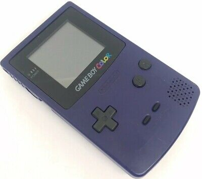 Battery Back Door Cover Case for Gameboy Color GBC Game Boy Color Replaceme Purple