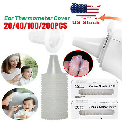 100*For Braun Probe Covers Thermoscan Replacement Lens Filter Ear Thermometer
