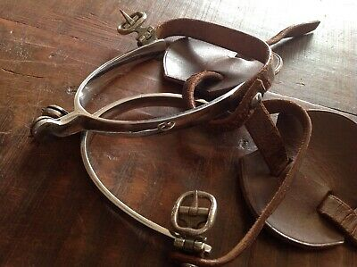 c.Militia Period Matched Set Of Nickeled Spurs