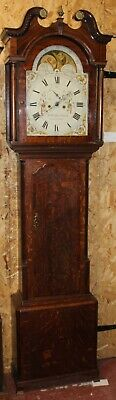 1800's 8 Day Grandfather Clock -J N and Tho Ollivant Manchester