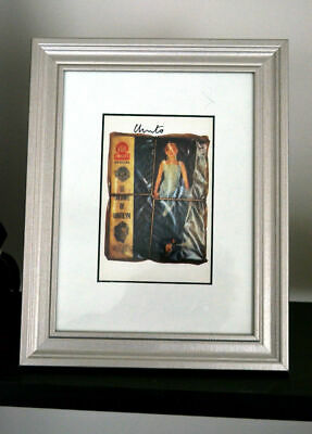 Christo  Wrapped Magazine Marilyn Monroe ORIGINAL hand signed framed