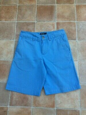 Boys Polo Ralph Lauren Blue Classic Polo Chino Shorts Size: 8 - Age: 6/7 yrs