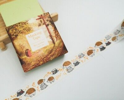 Hedgehog Washi Tape 15mmx10m MT4142