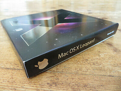 MAC OSX LEOPARD 10.5.1 MB428Z/A  Family Pack for 5 Licences