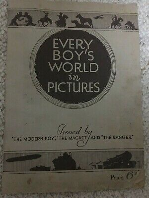 Magnet Picture Album and the Ranger. FULL SET Every Boy's World in Pictures