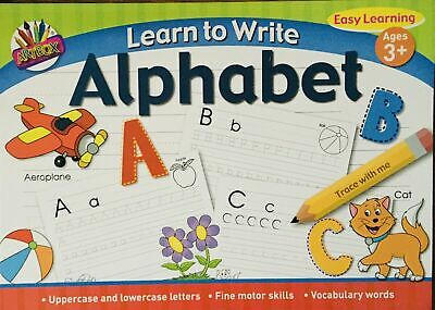Tallon Learn to Write Your Letters (Alphabet) Children's Activity Book