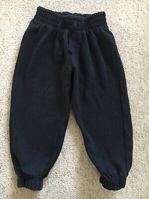 Boys Age 3 Black Jogging Bottoms From TU