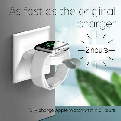 Portable Wireless Charger IWatch Charging Dock USB Apple Watch Series 5 4 3 2 1
